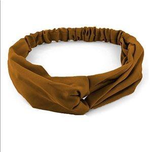 Accessories - (Set of 4) Boho Twist Headband, Sueded